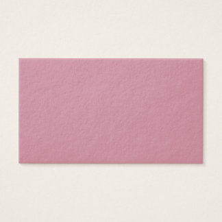 Puce Pink Business Card