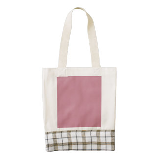 Puce Pink Zazzle HEART Tote Bag