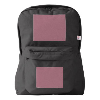 Puce Star Dust American Apparel™ Backpack