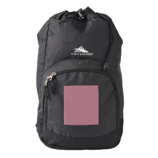 Puce Star Dust Backpack