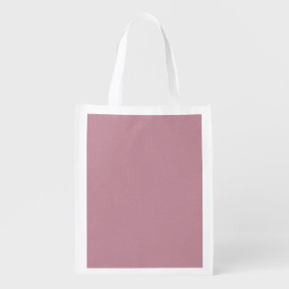 Puce Star Dust Grocery Bag