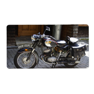 Puch 125 SV Label