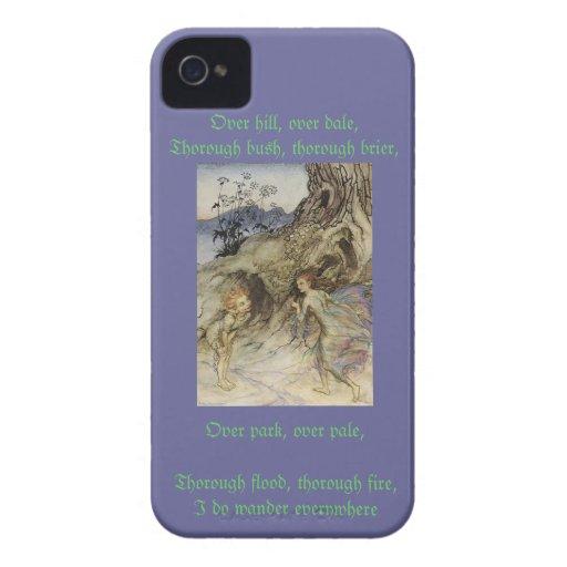 Puck A Midsummer's Night Dream iPhone 4 Cases