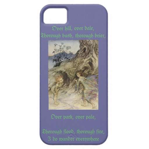 Puck A Midsummer's Night Dream iPhone 5 Covers