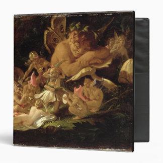 Puck and Fairies, from 'A Midsummer Night's Dream' Vinyl Binder