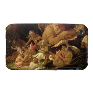 Puck and Fairies, from 'A Midsummer Night's Dream' iPhone 3 Case-Mate Case