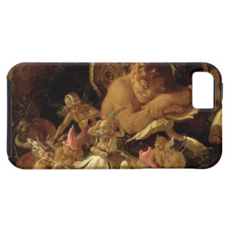 Puck and Fairies, from 'A Midsummer Night's Dream' iPhone SE/5/5s Case