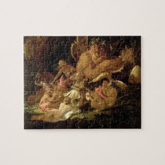 Puck and Fairies, from 'A Midsummer Night's Dream' Jigsaw Puzzle