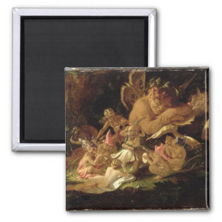 Puck and Fairies, from 'A Midsummer Night's Dream' Magnet