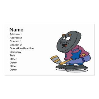 Puck Head Business Card