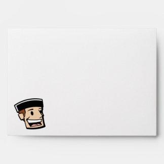 Puck Head Guy Envelope