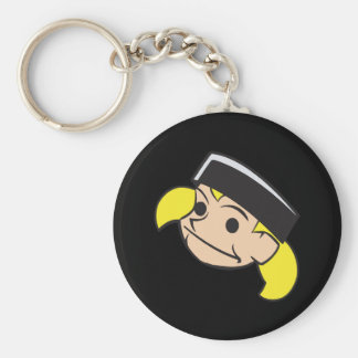 Puck Head Keychain