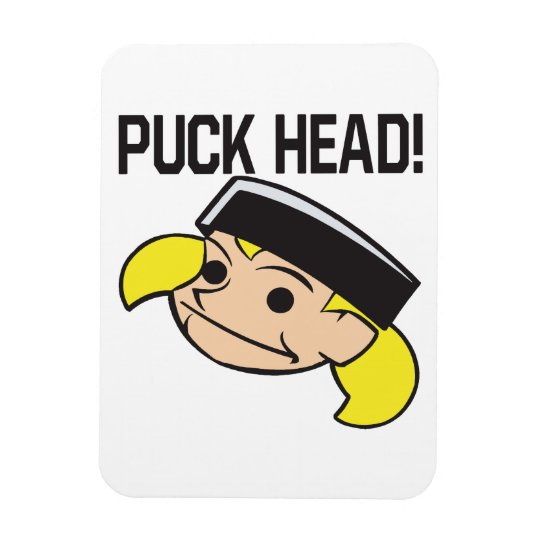 Puck Head Magnet