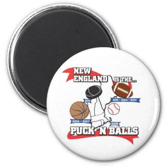 Puck 'N Balls 2 Inch Round Magnet