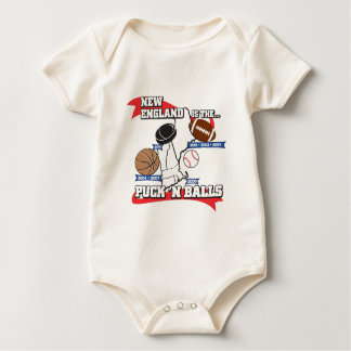 Puck 'N Balls Baby Bodysuit