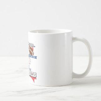 Puck 'N Balls Classic White Coffee Mug