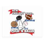 Puck 'N Balls Post Cards