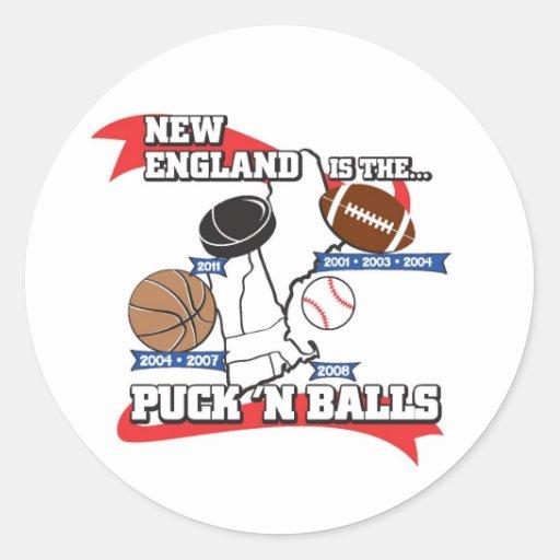 Puck 'N Balls Sticker