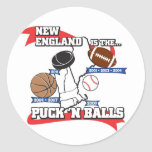 Puck 'N Balls Stickers