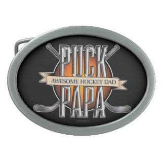 Puck Papa (Hockey Dad) Belt Buckle