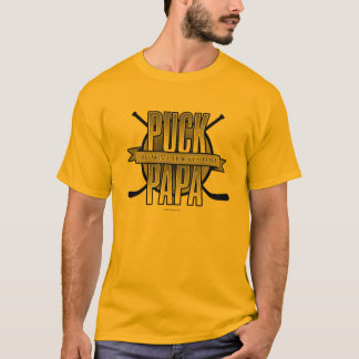 Puck Papa (Hockey Dad) T-Shirt