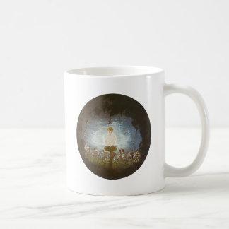 Puck Print by Richard Dadd Classic White Coffee Mug