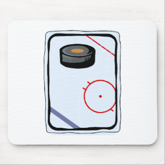 Puck & Rink Mouse Pad