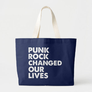 Puck Rock Changed Our Lives Tote Bag
