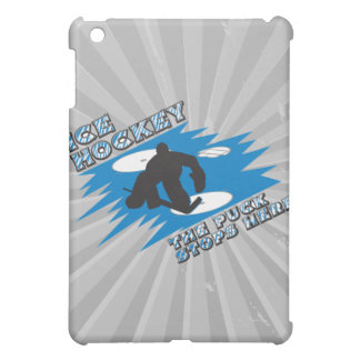 puck stops here ice hockey design cover for the iPad mini