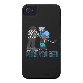 Puck You Ref iPhone 4 Covers