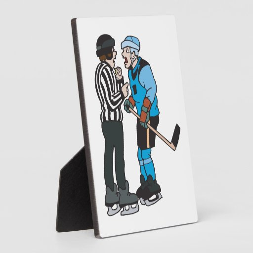 Puck You Ref Display Plaques