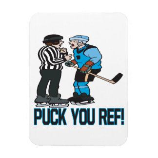Puck You Ref Magnet