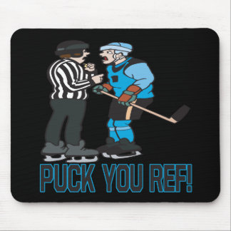 Puck You Ref Mouse Pad