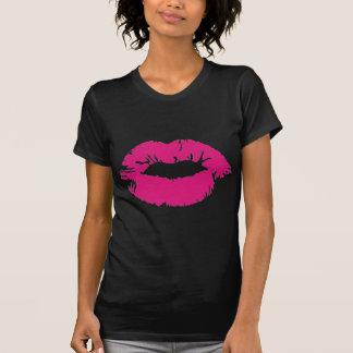 Pucker Pink Lipstick T-shirt