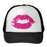 Pucker Pink Lipstick Trucker Hat
