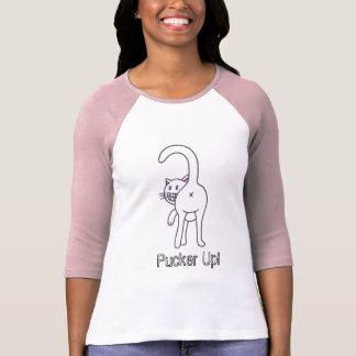 Pucker Up! cat shirt