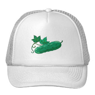 Pucker up for pickles trucker hat