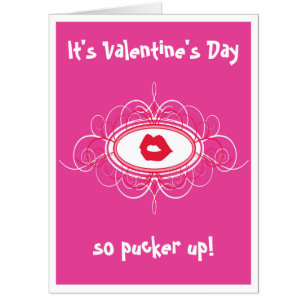 Large Valentine Day Cards Zazzle