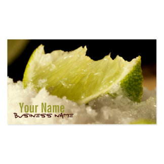 Pucker Up! Limes Business Cards