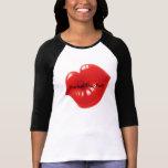 Pucker Up, Pal Graphic Baseball T-shirt