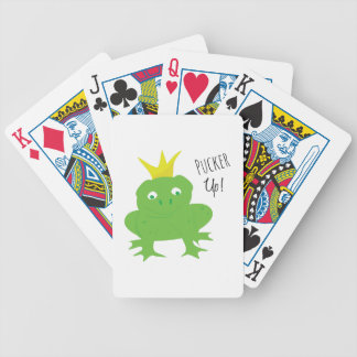 Pucker Up Bicycle Playing Cards