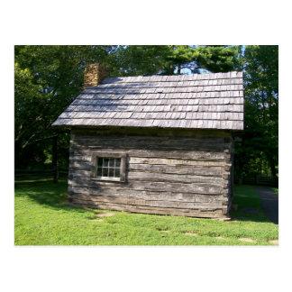Puckett Cabin Sideview Postcard