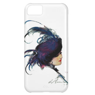Puck's Blue-bird Lady iPhone 5C Covers