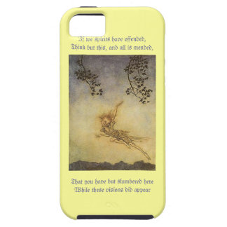 Pucks Monologue from A Midsummer's Night Dream iPhone SE/5/5s Case