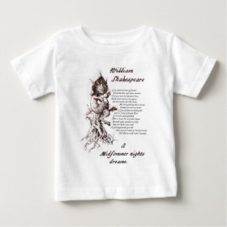 Puck's Soliloquy Midsummer Night's Shakespeare Baby T-Shirt