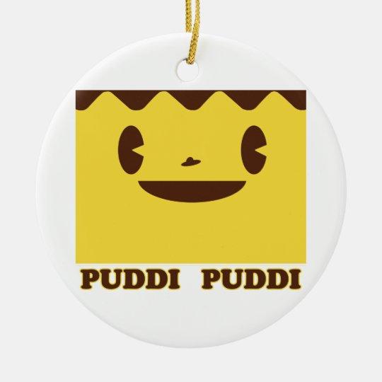 PUDDI Face PUDDI Ceramic Ornament