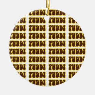 PUDDI PUDDI CERAMIC ORNAMENT