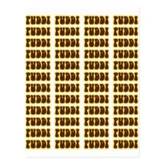 PUDDI PUDDI POSTCARD