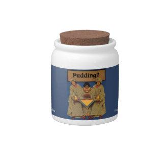 Pudding Jar Candy Jars