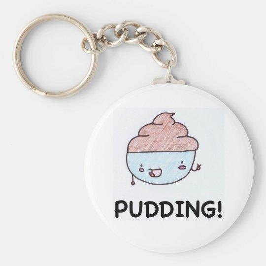 Pudding! Keychain